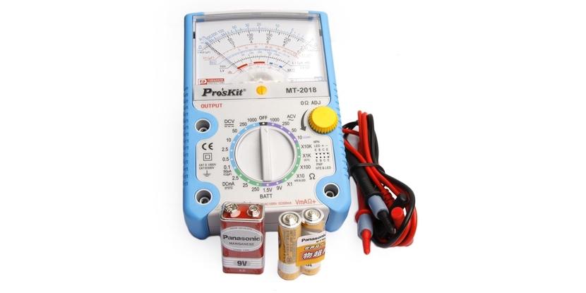 Polímetro Pro's Kit analógico